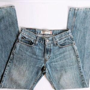 Levis 514 Slim Straight Light Blue Wash Jeans